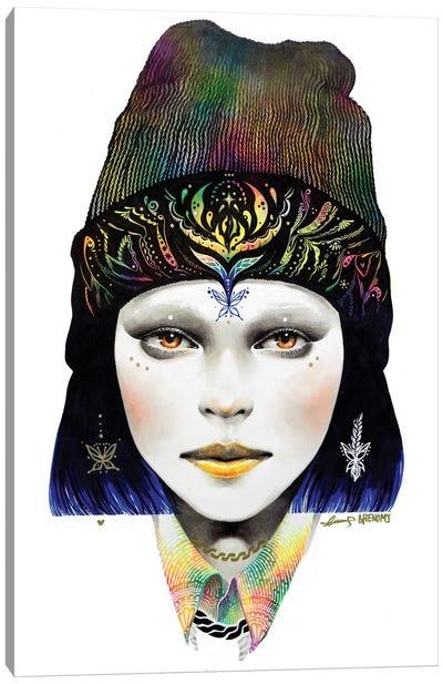 Girl #1 Canvas Art Print