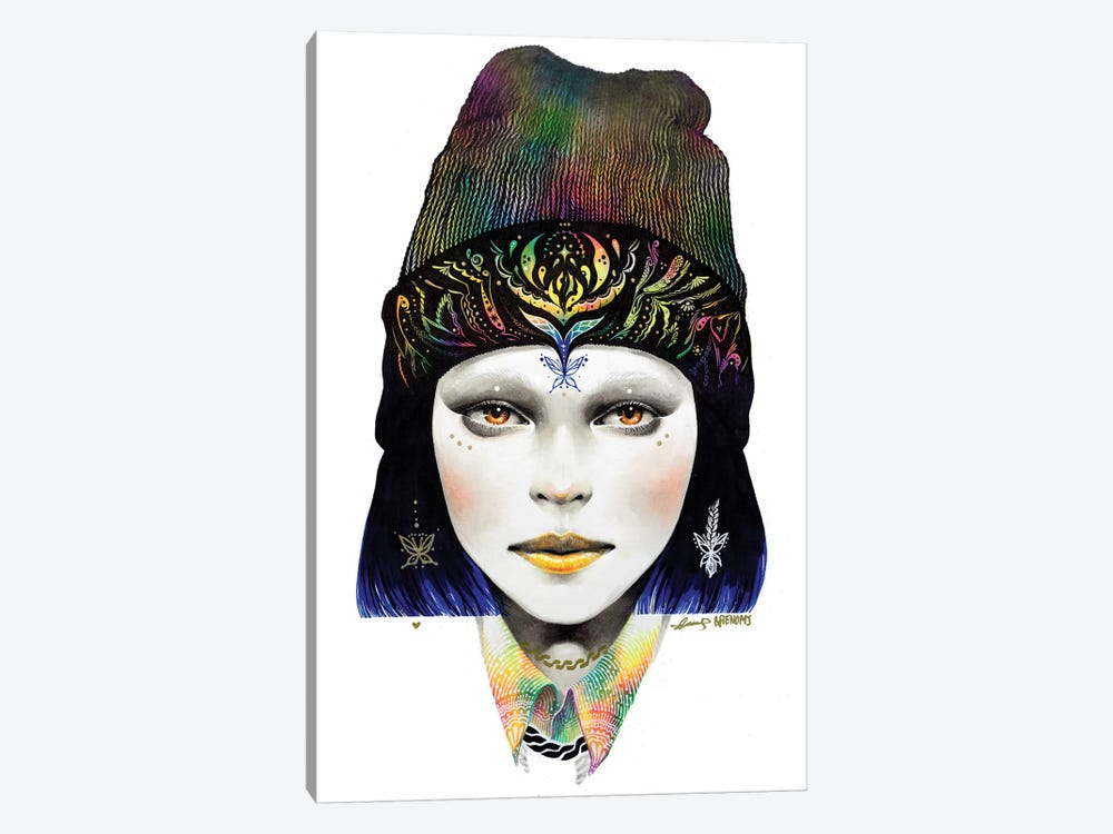 Girl #1 by Minjae Lee 1-piece Canvas Print