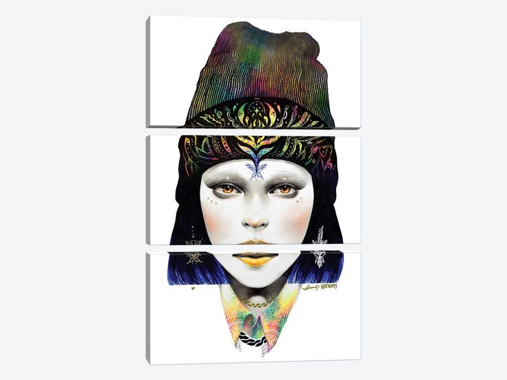 Girl #1 by Minjae Lee 3-piece Canvas Print