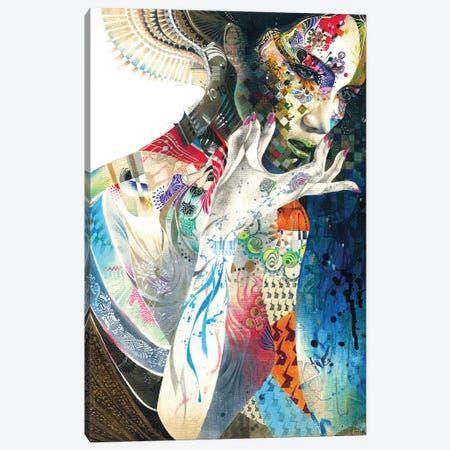 Indian Canvas Print #MJL15} by Minjae Lee Canvas Art