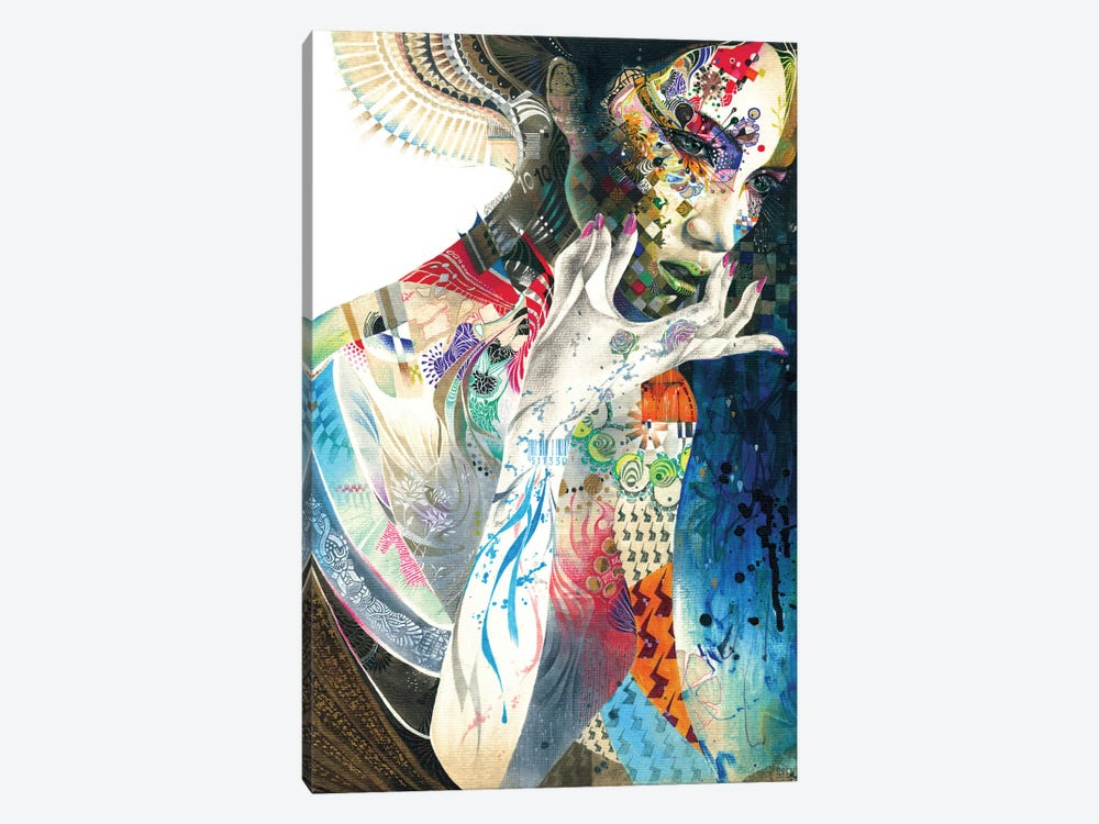 Indian by Minjae Lee 1-piece Canvas Wall Art