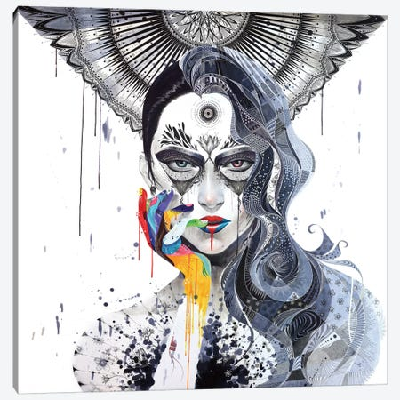 Janus Canvas Print #MJL16} by Minjae Lee Canvas Art