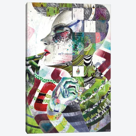 Reminiscence III Canvas Print #MJL18} by Minjae Lee Art Print