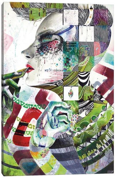 Reminiscence III Canvas Art Print