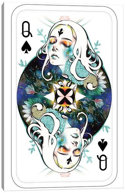 Spade Queen Canvas Art Print