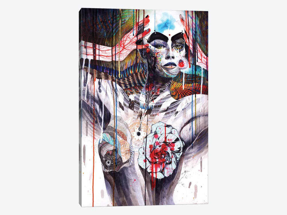 The World by Minjae Lee 1-piece Canvas Art