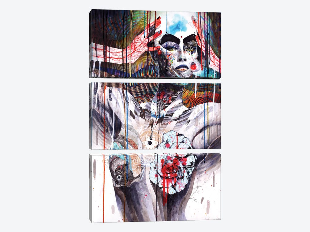 The World by Minjae Lee 3-piece Canvas Wall Art