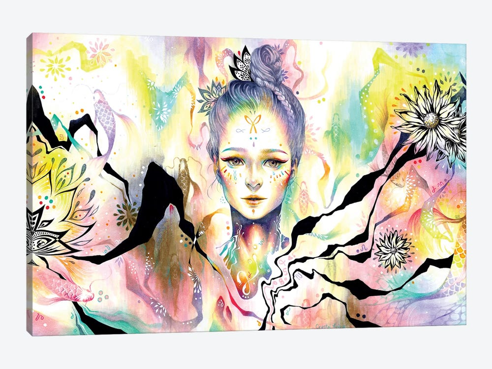 Crystal Fairy by Minjae Lee 1-piece Canvas Art