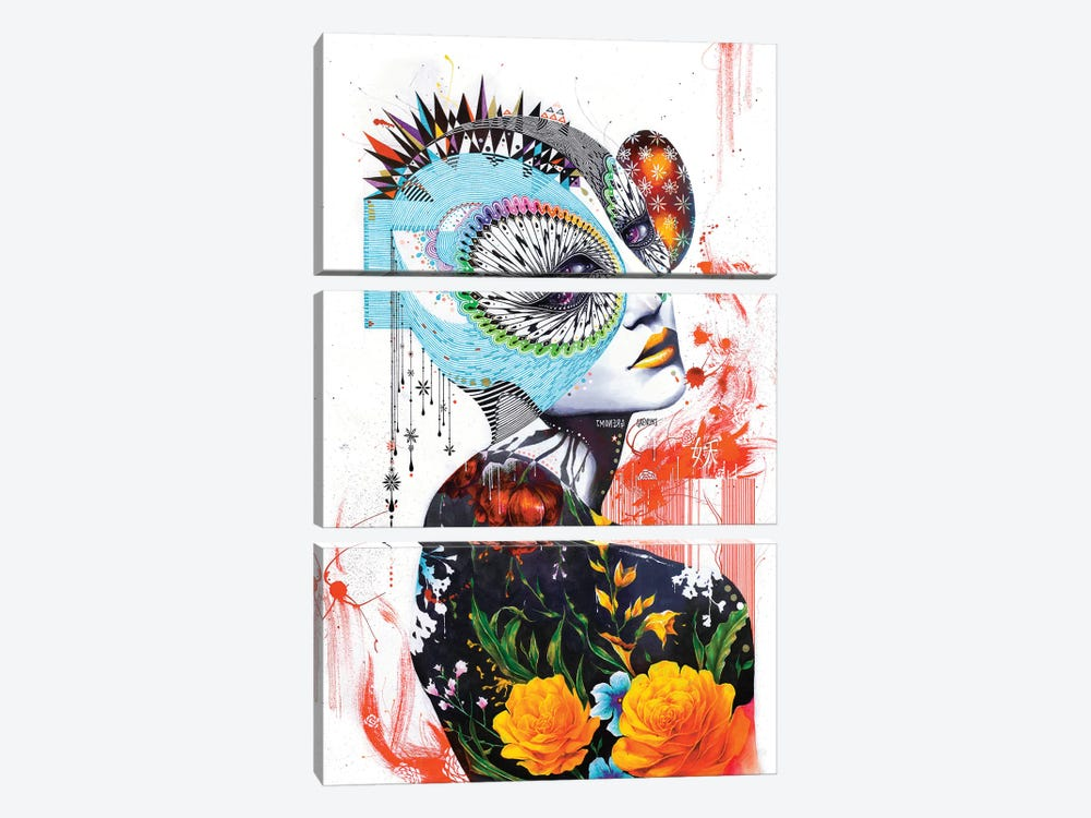 Do Kaebi by Minjae Lee 3-piece Canvas Print