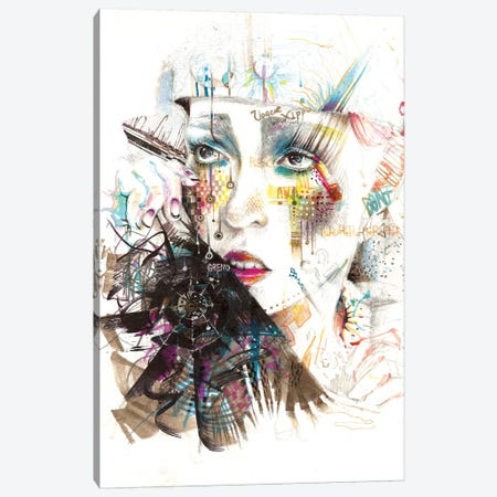 Drama Queen Canvas Print #MJL28} by Minjae Lee Canvas Artwork