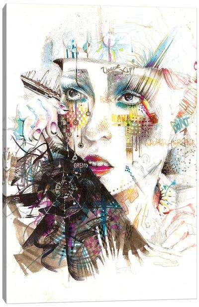 Drama Queen Canvas Print #MJL28