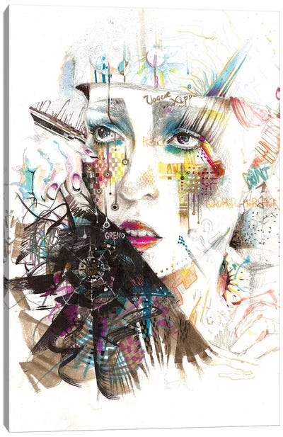 Drama Queen Canvas Art Print