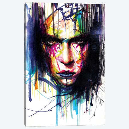 Gaze II Canvas Print #MJL29} by Minjae Lee Canvas Art