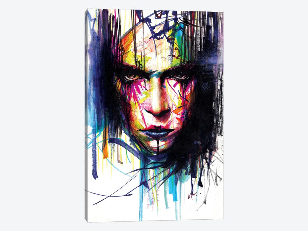 Gaze II by Minjae Lee 1-piece Canvas Art Print