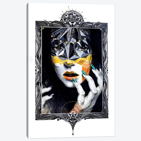 Gold II Canvas Print #MJL30} by Minjae Lee Art Print