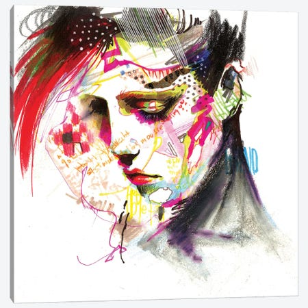 Hangover Canvas Print #MJL31} by Minjae Lee Art Print