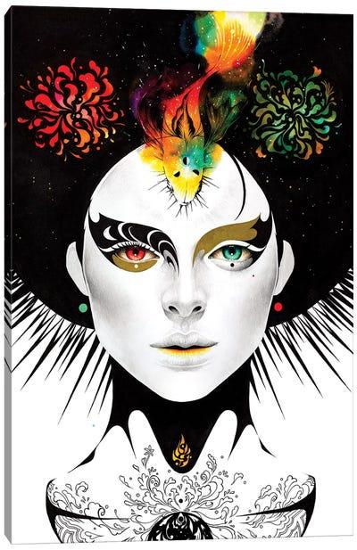 Odd Eyes Canvas Art Print