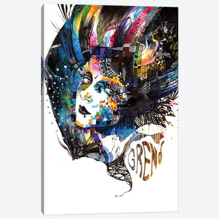 The Free Canvas Print #MJL34} by Minjae Lee Canvas Wall Art