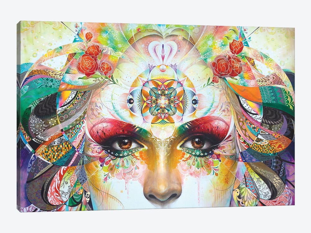 Gaia 1-piece Canvas Wall Art