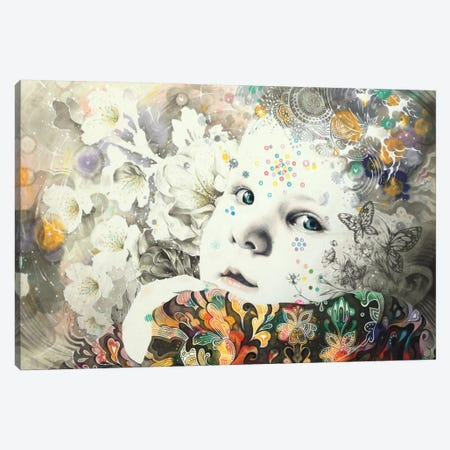 Blooming Canvas Print #MJL3} by Minjae Lee Canvas Artwork