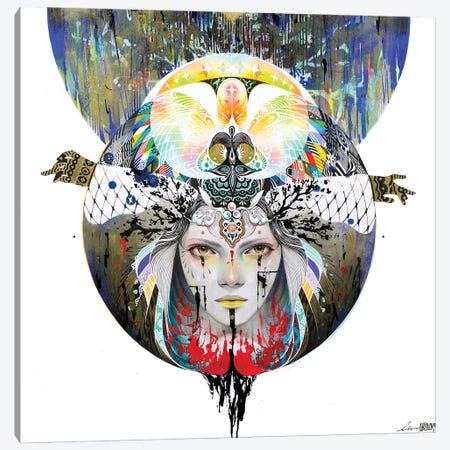 In The Circle V Canvas Print #MJL46} by Minjae Lee Art Print
