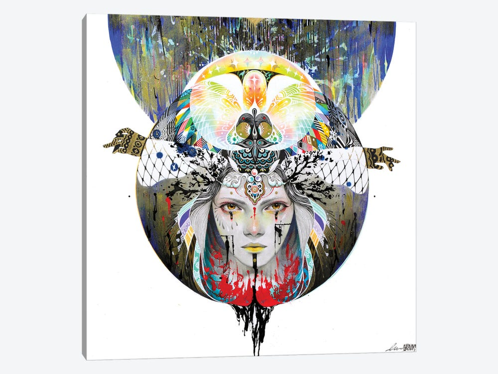 In The Circle V by Minjae Lee 1-piece Canvas Wall Art