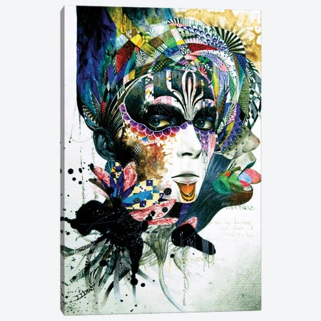 Blossom Desire Canvas Print #MJL4} by Minjae Lee Art Print