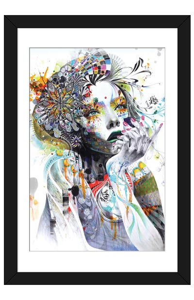 Circulation Framed Art Print