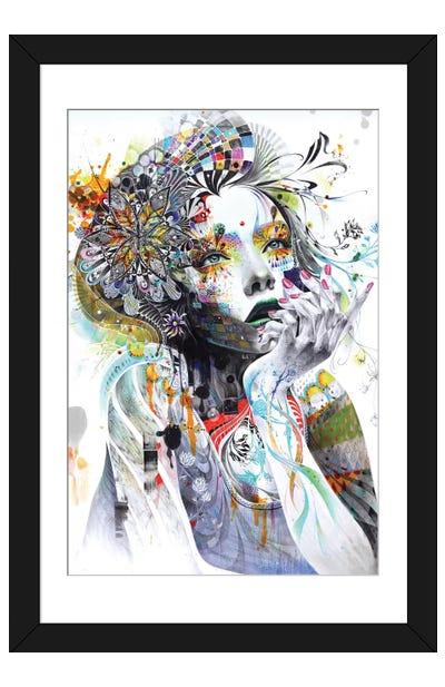 Circulation Framed Art Print