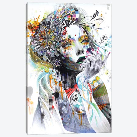 Circulation Canvas Art Print