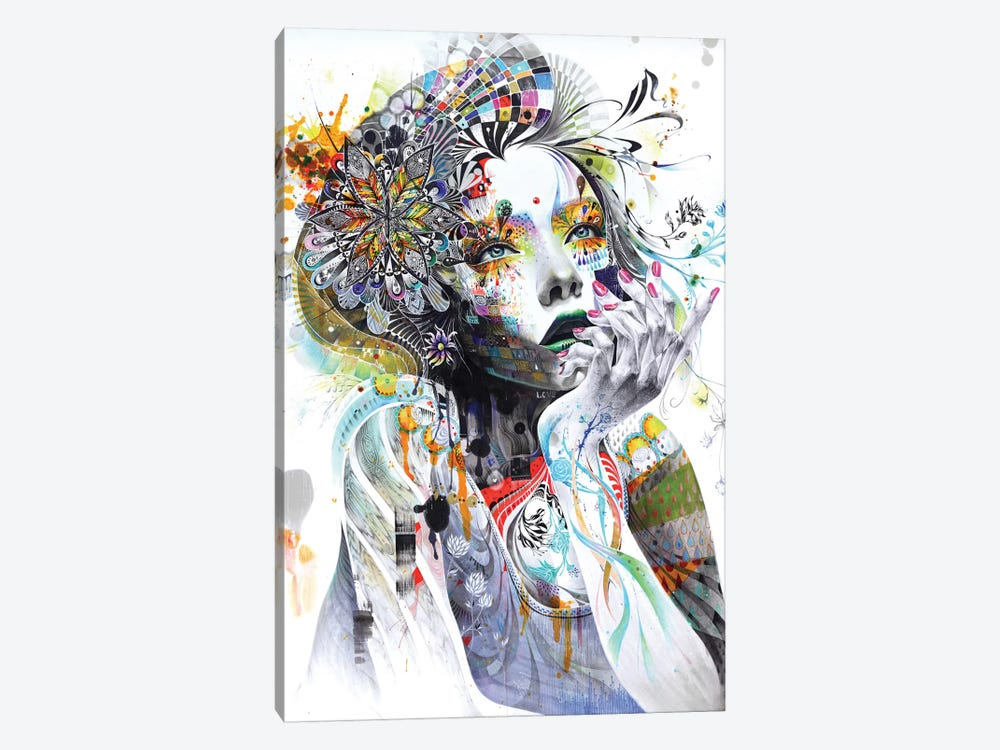 Circulation by Minjae Lee 1-piece Canvas Art Print