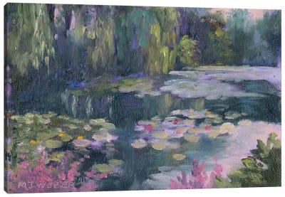 Monet's Garden II Canvas Print #MJW1
