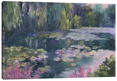 Monet's Garden II Canvas Art Print