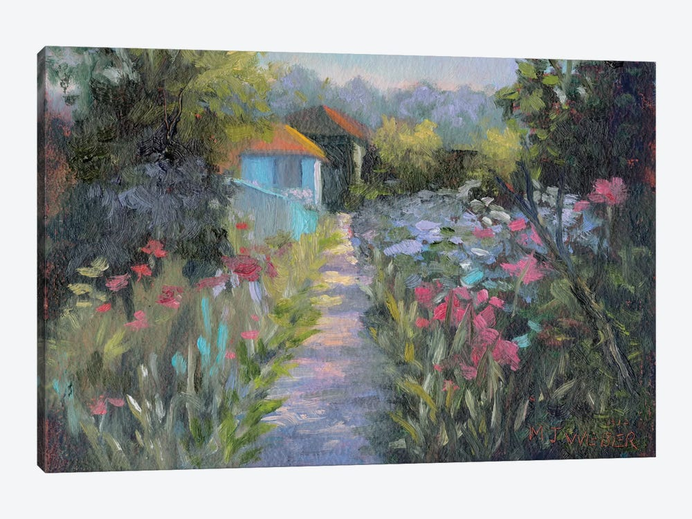 Monet's Garden V by Mary Jean Weber 1-piece Art Print