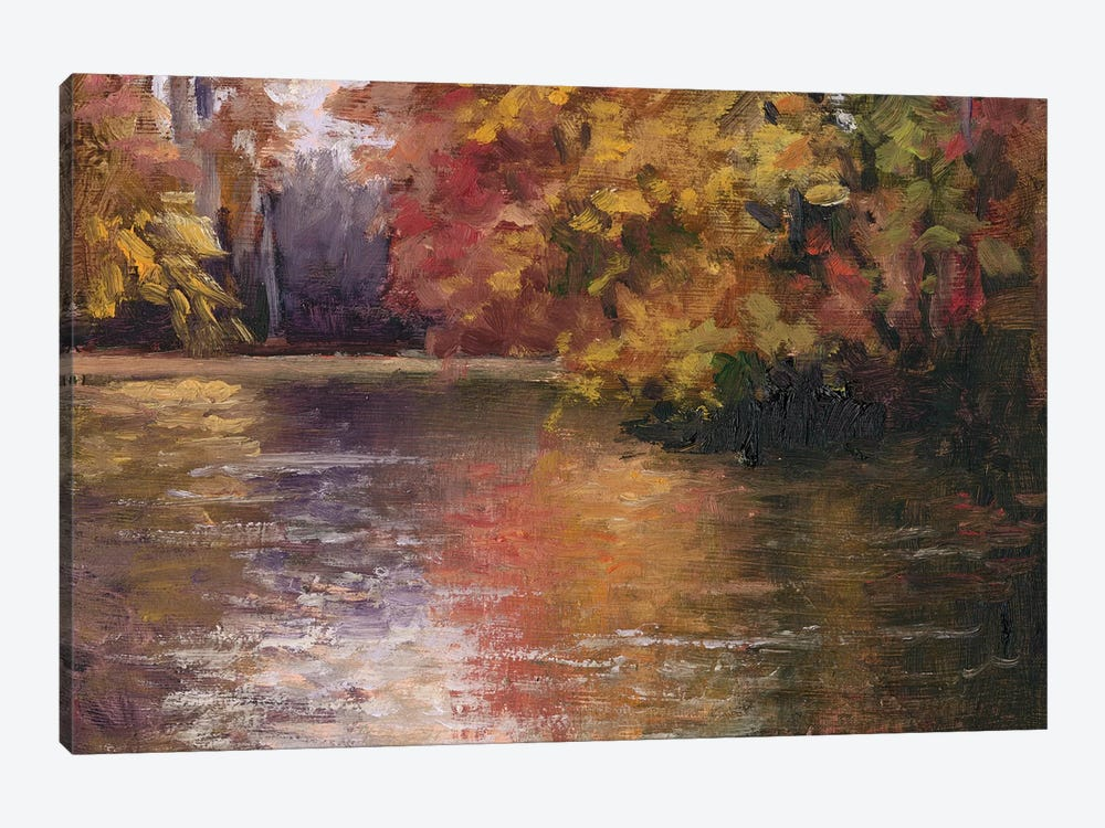 Shades Of Fall by Mary Jean Weber 1-piece Canvas Artwork