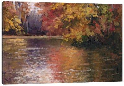Shades Of Fall Canvas Art Print