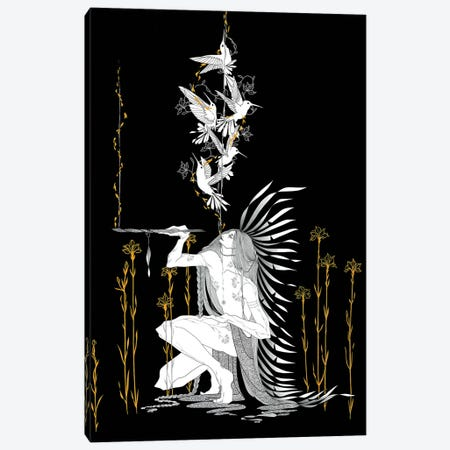 Great Spirit Canvas Print #MKA11} by Marina Mika Canvas Print