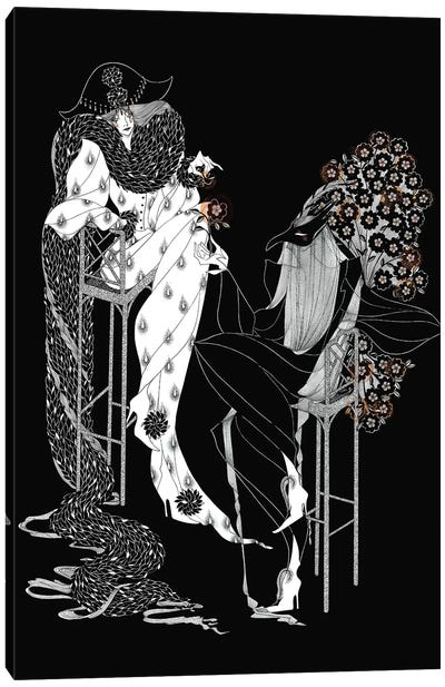 Strange Love(r) Canvas Art Print