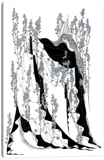 Trnoružica Canvas Art Print