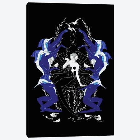Aquarius Canvas Print #MKA2} by Marina Mika Canvas Art