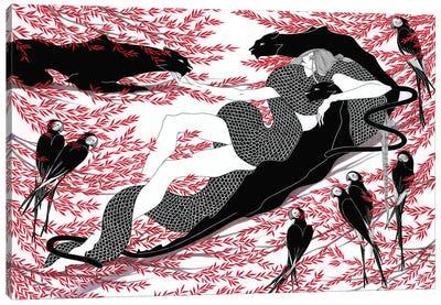 Bagreera Canvas Art Print