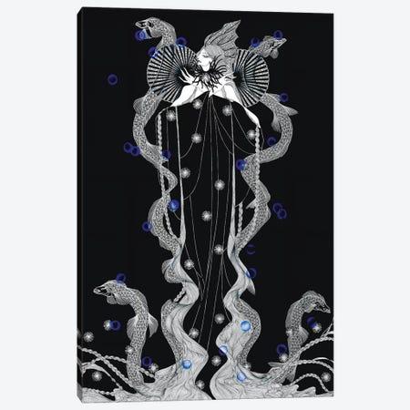 Deep Sea Canvas Print #MKA5} by Marina Mika Art Print