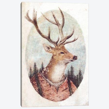 Wild Wanderer Canvas Print #MKB129} by Mike Koubou Canvas Wall Art