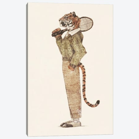 Tiger Tennis Club Canvas Print #MKB131} by Mike Koubou Canvas Print