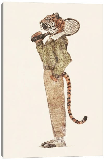 Tiger Tennis Club Canvas Art Print