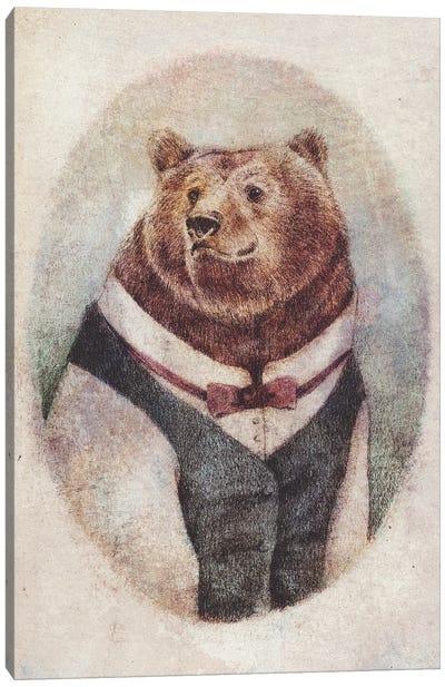 Wild Gentleman Canvas Art Print