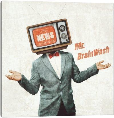 Mr Brainwash Canvas Art Print