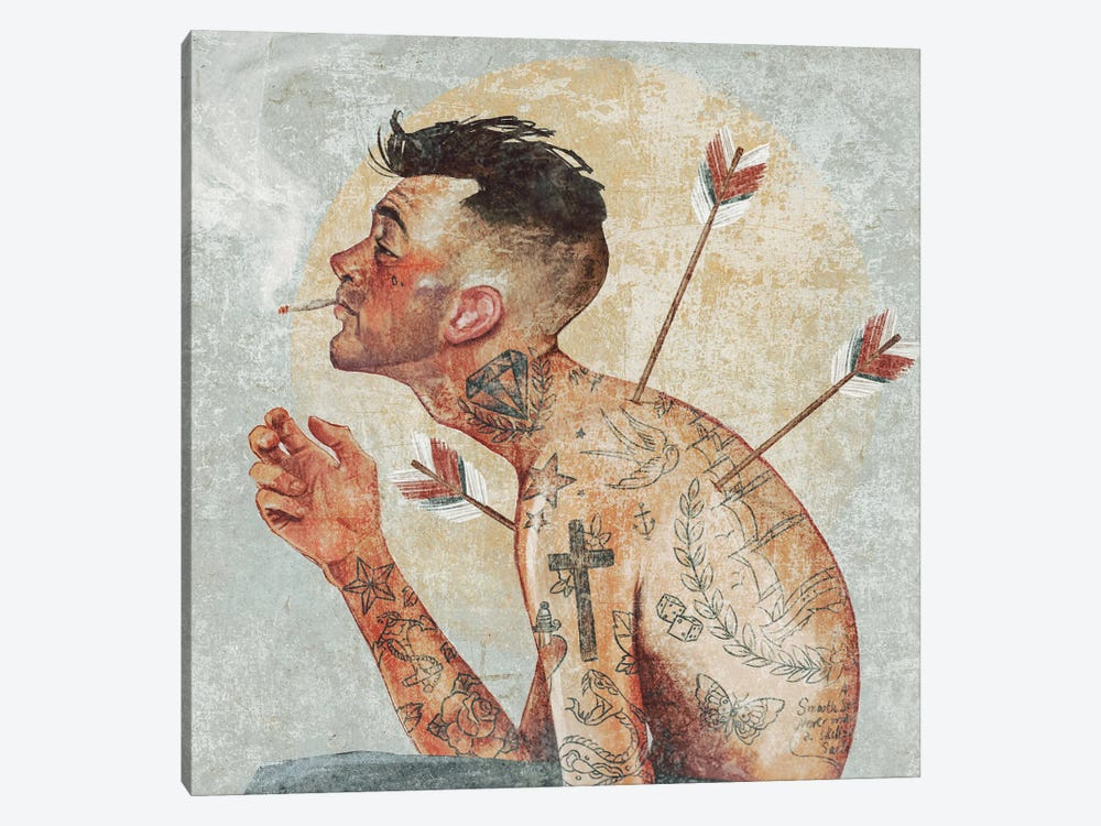 Heal by Mike Koubou 1-piece Canvas Wall Art