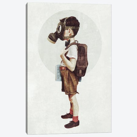 Back to school Canvas Print #MKB169} by Mike Koubou Canvas Art