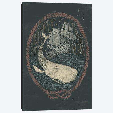Deep Canvas Print #MKB16} by Mike Koubou Art Print